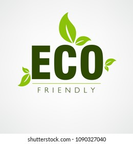 Eco Friendly, Vector Illustration.