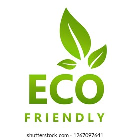 Eco friendly vector illustration