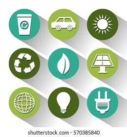 eco green environmental poster