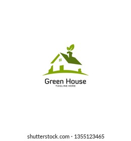 eco green house logo