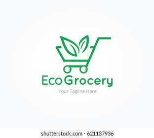 Eco Groceries Logo Templates