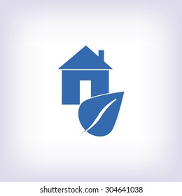 Eco House icon.