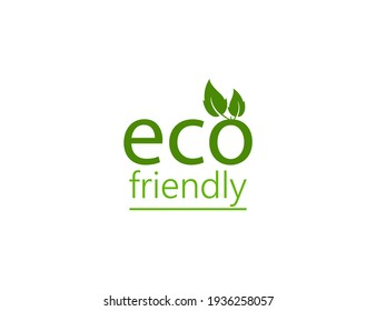 Eco icon. Eco friendly sign. Vector illustration.