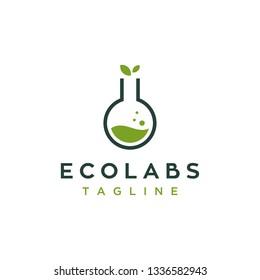 eco labs logo design