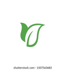 Eco Tree Leaf Logo Template design
