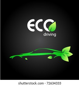 ecologic driving sign