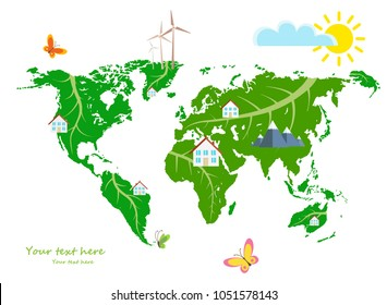 ecological concept development of the world