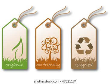 Ecological sales tags