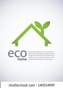 Ecology background, EPS10 vector.