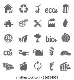 Ecology basic icons