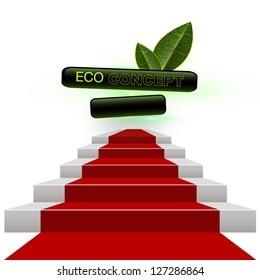Ecology concept. vector design