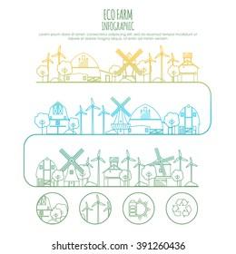natural farm vector logo design template stock vector royalty free