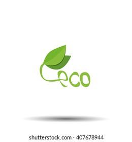Ecology icon Eco logo