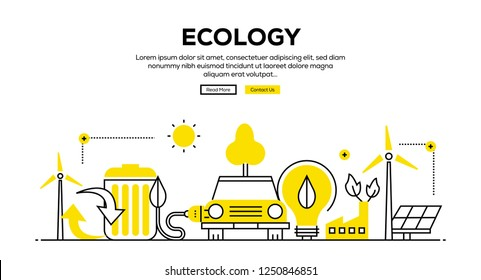 ECOLOGY INFOGRAPHIC CONCEPT