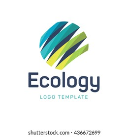 Ecology logo template