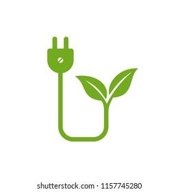 Ecology Logo Vector Template