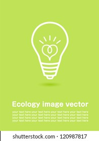 ecology poster Vector