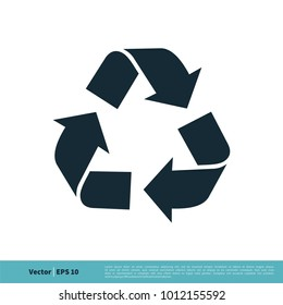 Ecology, Recycle Icon Vector Logo Template