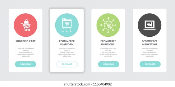Ecommerce Marketing Banners Foreign Education Banners