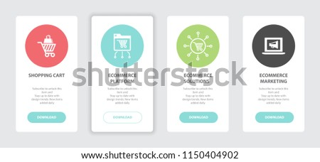 Ecommerce Marketing Banners Gift Box Banners