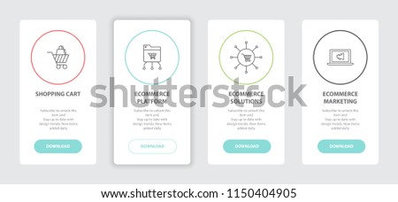 Ecommerce Marketing Banners Web Designer Banners