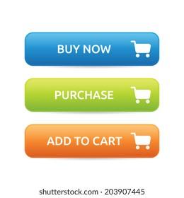 E-commerce Buttons