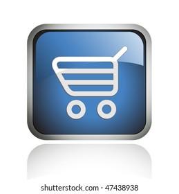 e-commerce glossy icon