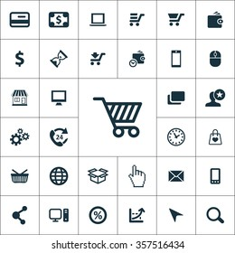 e-commerce Icons Vector set