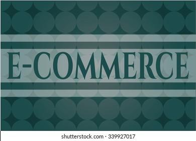 e-commerce poster or banner