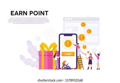 e-commerce programs provide satisfaction for customers by giving gifts, rewards or points as a form of customer loyalty, the concept of customer loyalty programs