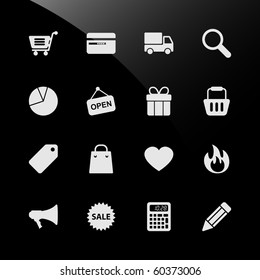 Ecommerce Shopping Web Icons