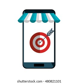 e-commerce smartphone shop online design