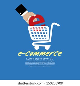 E-Commerce Vector Illustration Concept EPS10