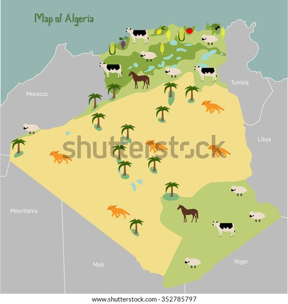 Economic Map Algeria Vector Illustration Stock Vector ... on map of yemen, map of middle east, map of mali, map of syria, map of laos, map of algiers, map lebanon, map of sudan, map of gibraltar, map of bahrain, map of angola, map of iraq, map of europe, map of tunisia, map of switzerland, map of africa, map of central america, map of great britain, map of libya, map of morocco,