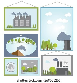 ecosystem in Pictures, vector