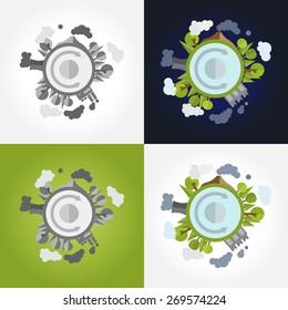 ecosystem, vector
