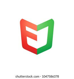 EC's letter logo is simple and powerful