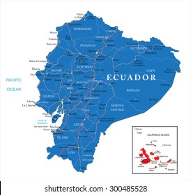 Quito Map Images Stock Photos Vectors Shutterstock