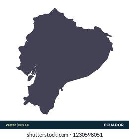 Ecuador Map Stock Vectors, Images & Vector Art | Shutterstock