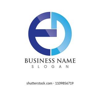 ED logo and symbols