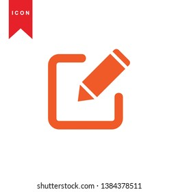 edit icon. isolated sign symbol - Vector