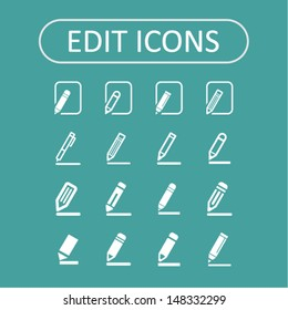 Edit icons for web