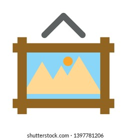 Edit photo flat icon. flat style sign for mobile concept and web design. Photo editing vector icon. Symbol, logo illustration. Pixel perfect vector graphics