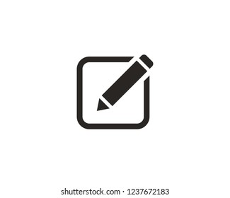 Edit text icon sign symbol
