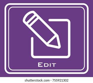 Edit vector icon