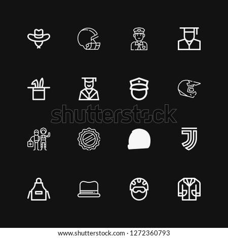 Editable 16 uniform icons