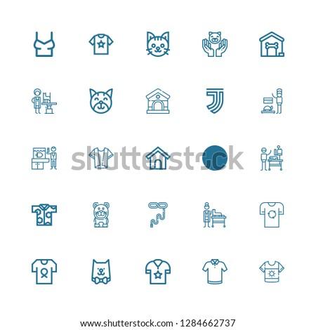 Editable 25 collar icons