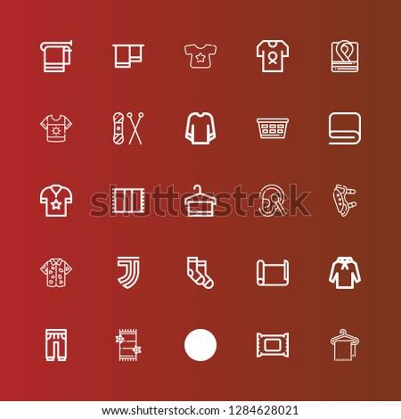 Editable 25 cotton icons