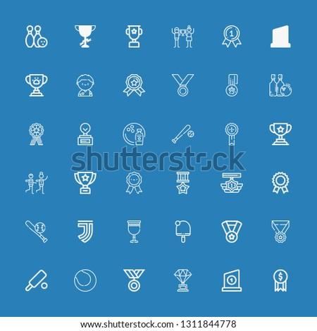 Editable 36 championship icons