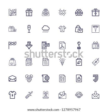 Editable 36 new icons